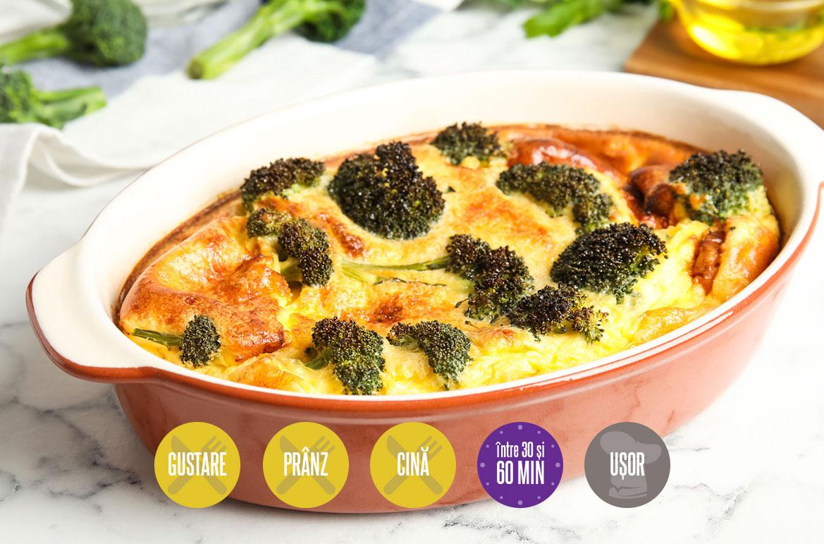 budincă de broccoli