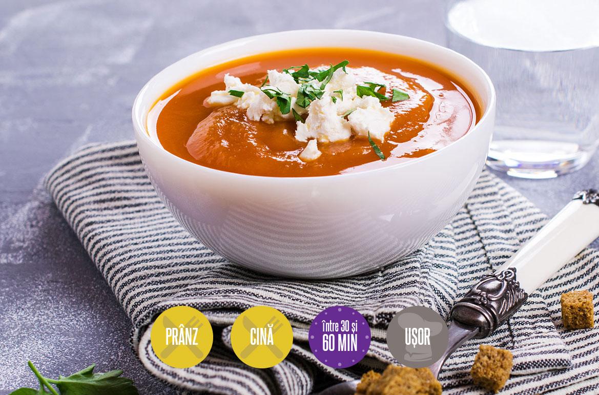 supă-cremă de legume coapte