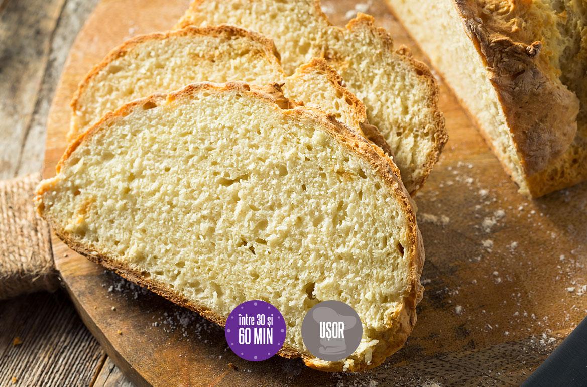 pâine cu bicarbonat