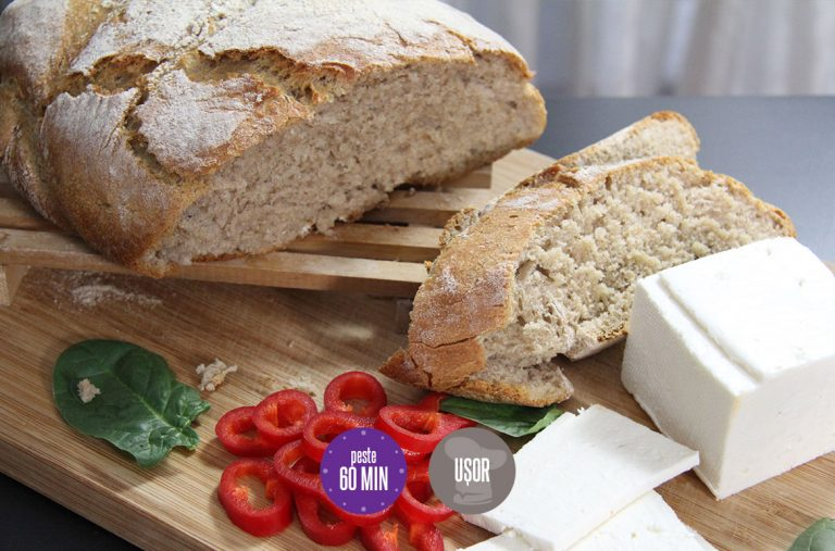 pâine fără frământare
