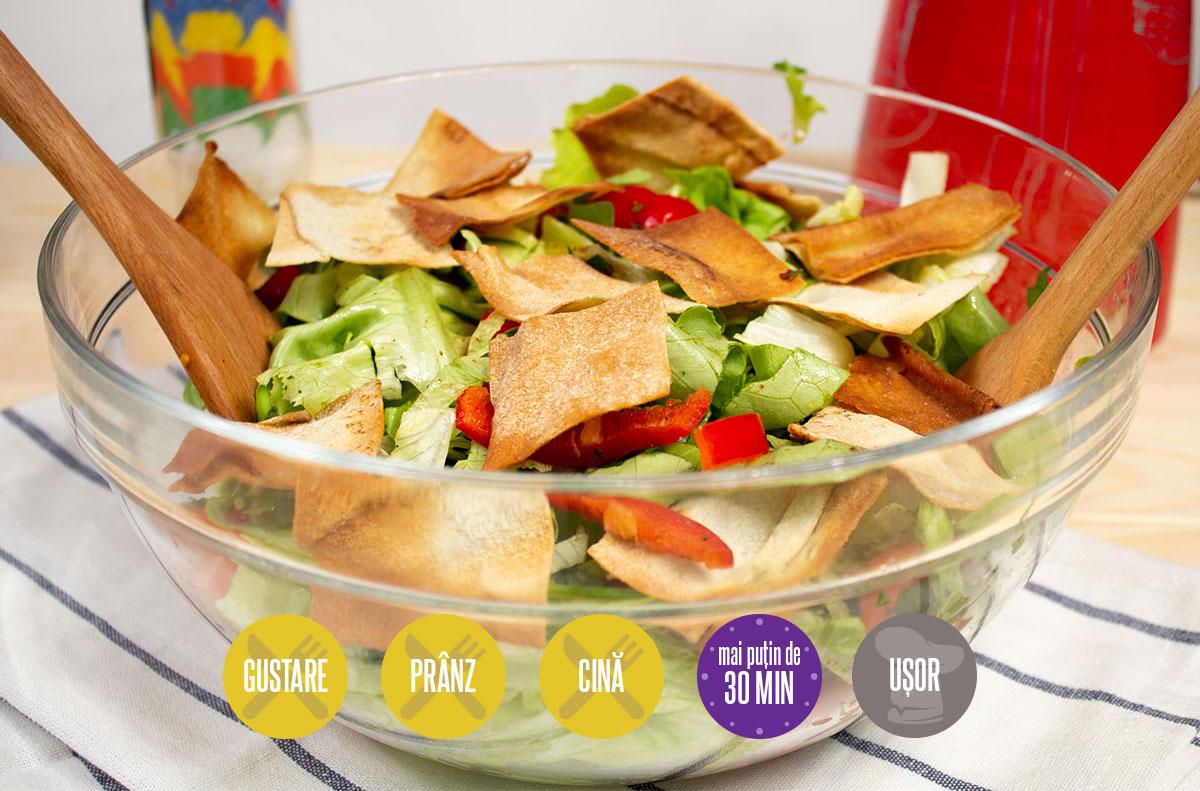 salată fattoush