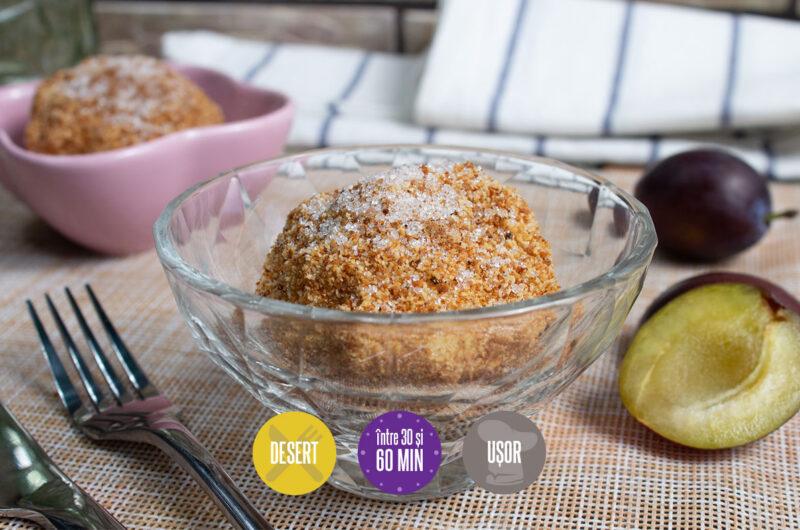 Găluște cu prune (Gomboți)