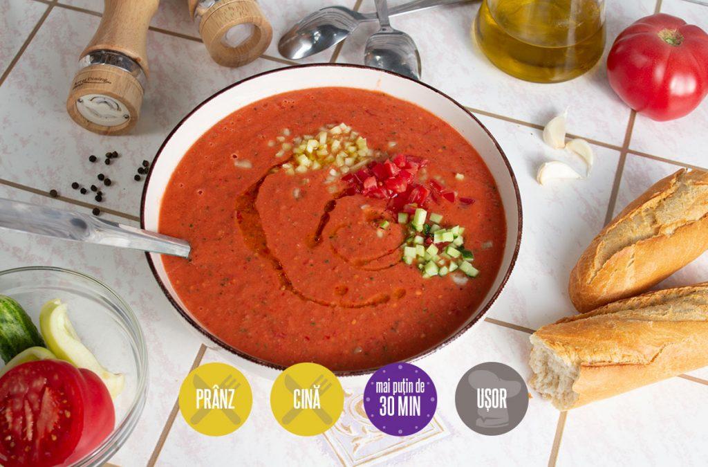 gazpacho sau supă rece de legume