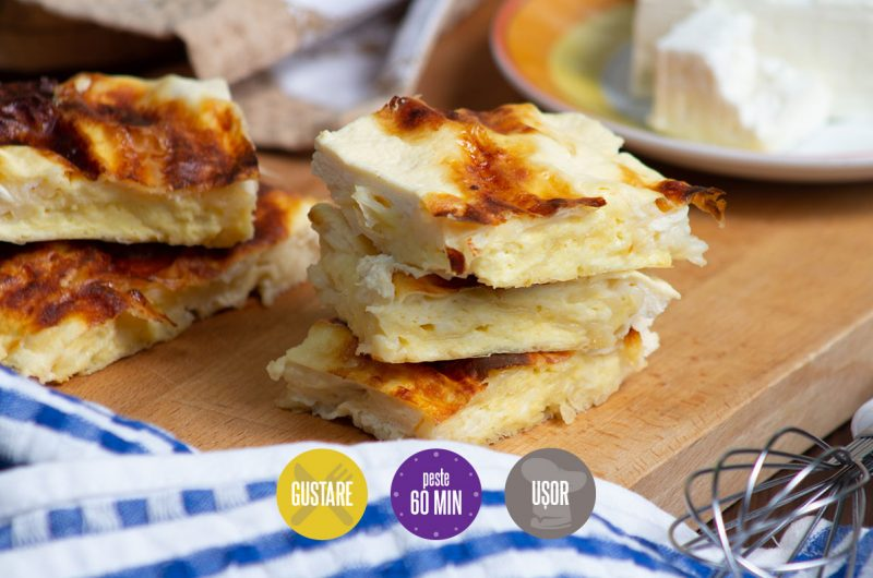 plăcintă dobrogeană cu brânză