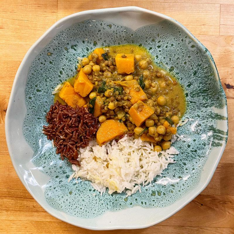 Curry gătit de Oana Bulzan Trifu