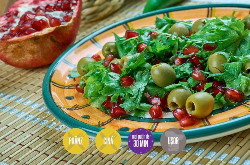 salată turcească cu rodie