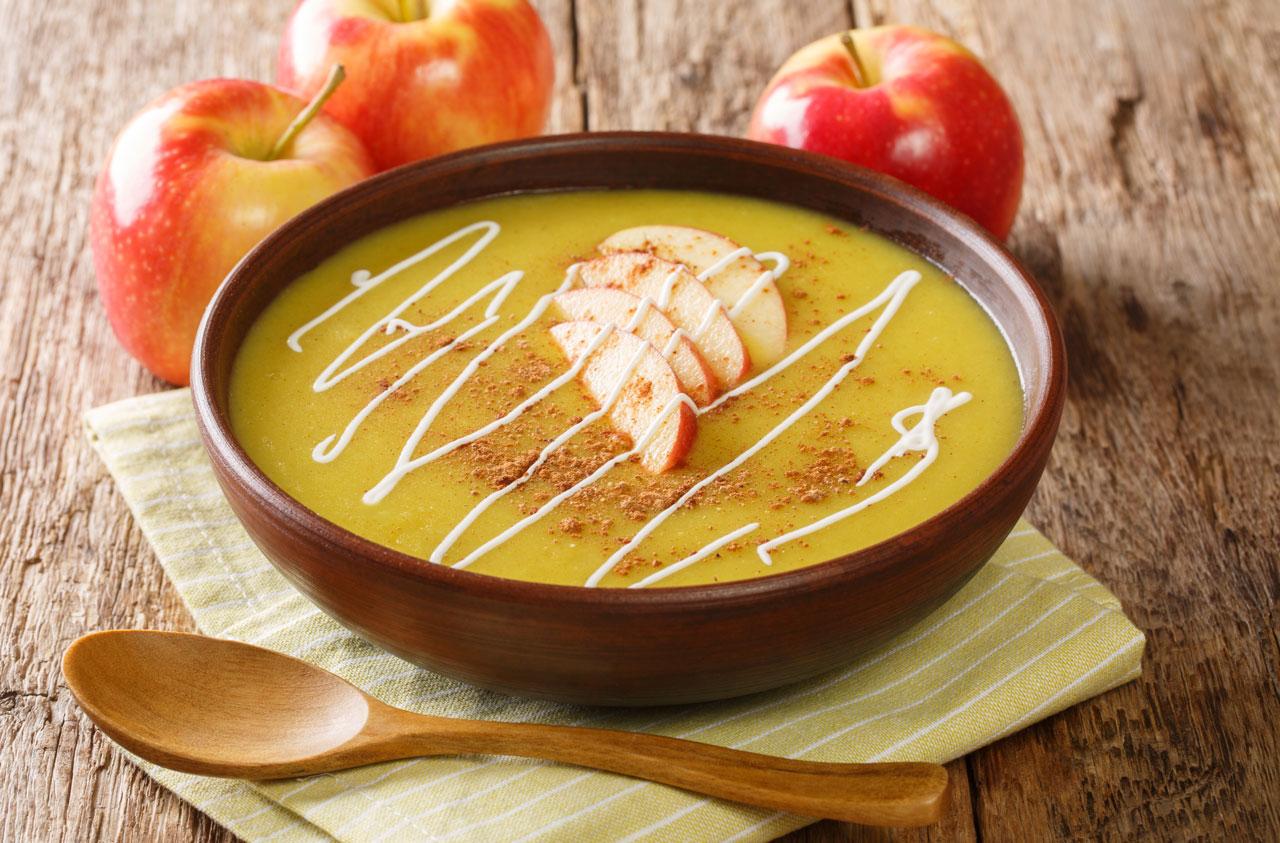 Apfelsuppe supa de mere