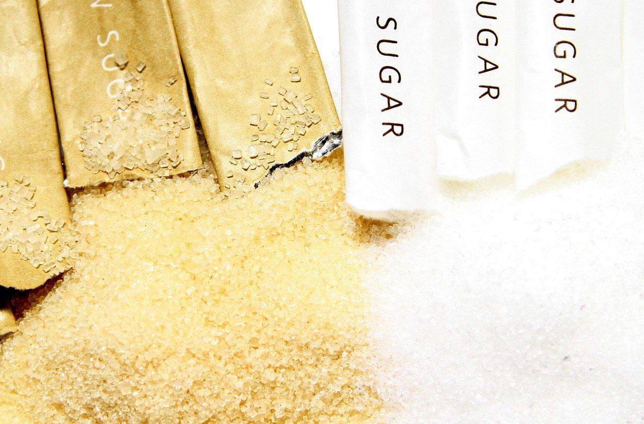 Zahăr alb și brun