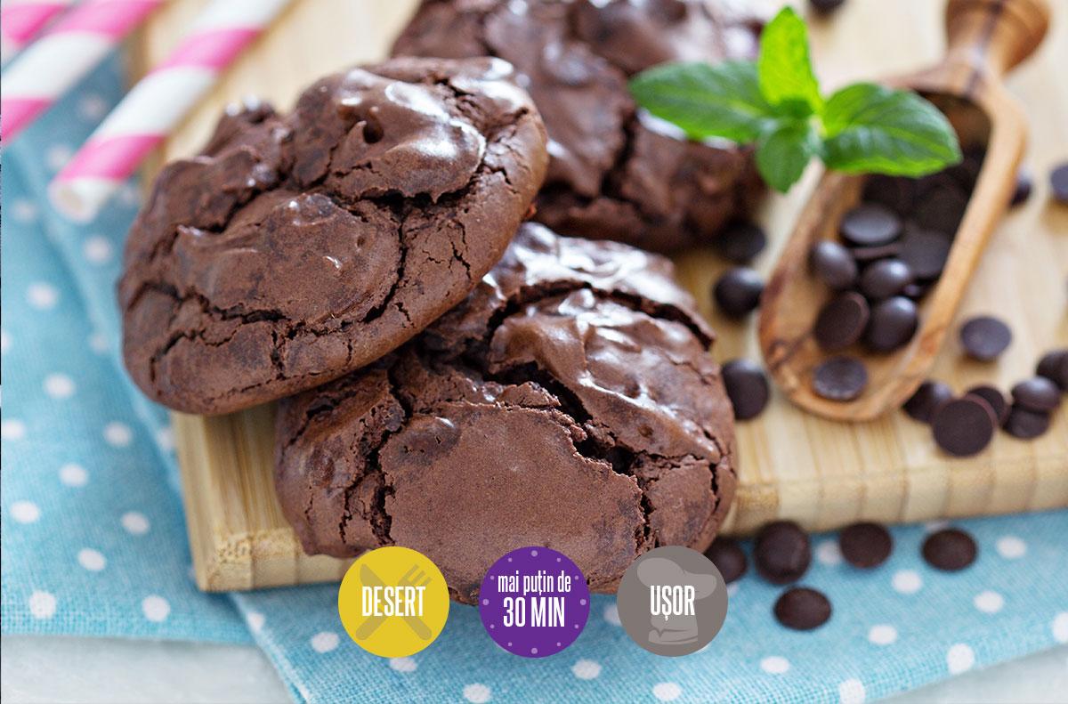 biscuiți cu ciocolată