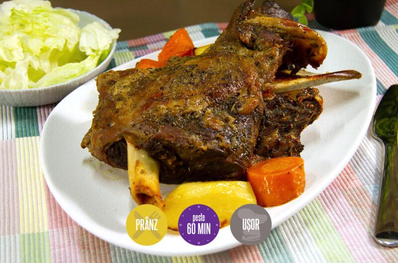 friptură de spată de capră cu legume