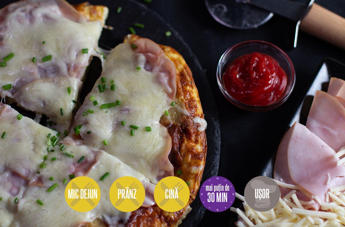 omletă pizza