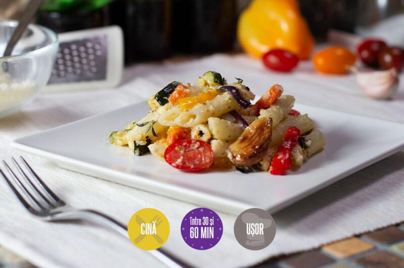 paste cu legume coapte