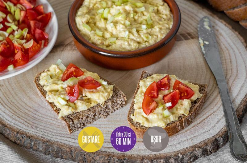 salată de vinete cu dovlecel