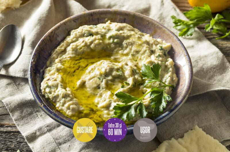 salată de vinete cu iaurt