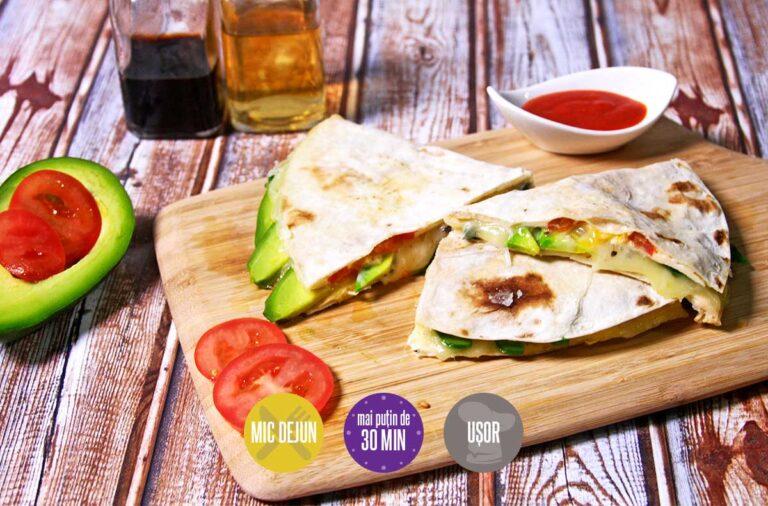 omletă în tortilla