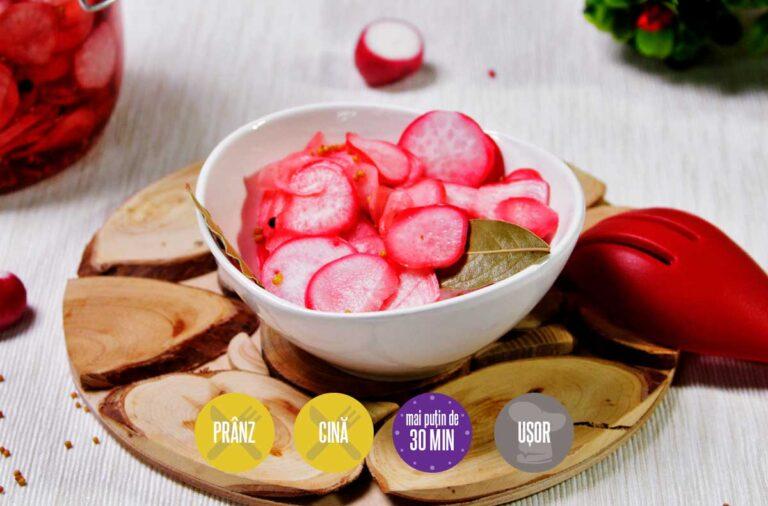 salată de ridichi murate